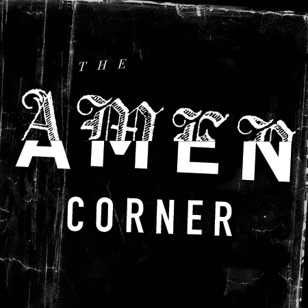 Title treatment for Guthrie Theater's Amen Corner