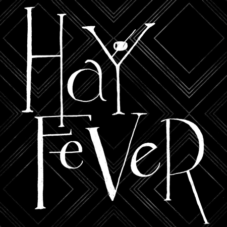 Title treatment for Guthrie Theater's Hay Fever