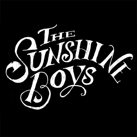 Title treatment for Guthrie Theater's Sunshine Boys